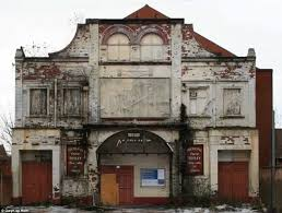 image gallery old cinema front