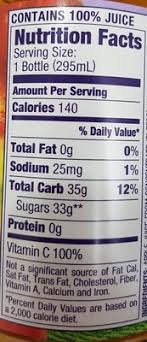 welch s apple juice 100 nutrition facts