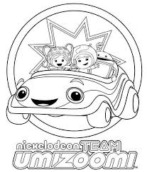Small Picture How To Draw Team Umizoomi Coloring Page Color Luna Coloring