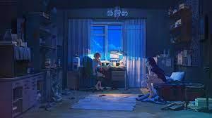 Sad Anime Aesthetic Laptop Wallpapers ...
