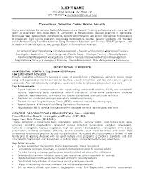 Sample Resume For Security Officer Security Officer Resume Objective