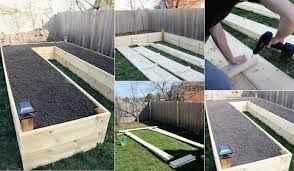 building a garden bed. How To Build A U-Shaped Raised Garden Bed Building G