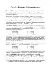 Sublease Agreement Samples 11 Sublease Agreement Examples Pdf Doc