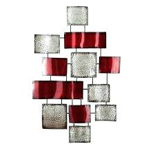 red metal wall decor poppy art fish entrancing home perfect for living truck decoration 600x600 captivating