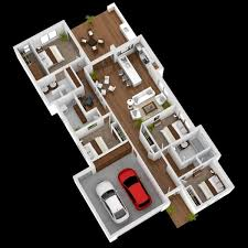 Small Picture 4 Bedroom ApartmentHouse Plans
