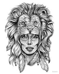 27 Excellent Girly Tattoo Lion About On Pinterest Tattoo Design