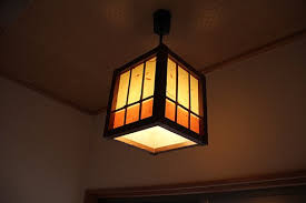 japanese style lighting. japanese style lighting inn light o