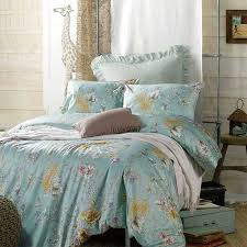 green fl egyptian cotton queen size bedding sets