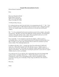 Reference Letter For Coworker Recommendation Letter Template For