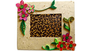 picture of how to make beautiful quilling photo frame easy craft ideas