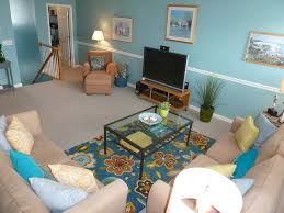 Pottery Barn For Living Room Tropical Living Room With Chair Rail Carpet In Rehoboth Beach