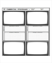 7 Commercial Storyboard Free Sample Example Format Download