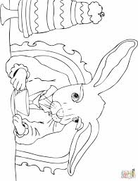 Small Picture Coloring Pages Caterpillar For Kids Printable Free Alice Book Home