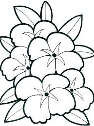 Spring Flowers Coloring Pages Christmas Worksheet Printables
