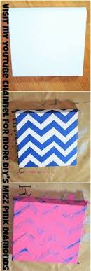 add some bright sparkle and dazzle to any room this is a fun inexpensive project you can create feel free to take this idea and modify it  on chevron canvas wall art diy with chevron canvas wall art diy canvases craft paint and craft