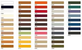 Mettler Color Chart Mettler Extra Strong Colour Chart Lentine Marine 32634