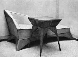 cubism furniture. Czech Cubist Furniture Cubism