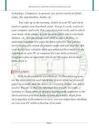 essay on importance of computer education co essay