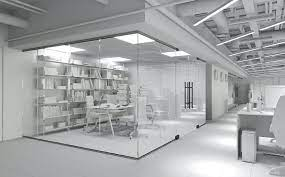 glass office partitions glass office