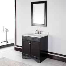 30 Bathroom Cabinet Cabinet With 30 Inch Carrera Italian Marble Top Bathroom Vanity