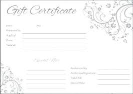 Word Templates For Gift Certificates How To Make Gift Certificates On Word Word Gift Certificate Template