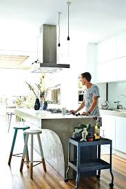 concrete kitchen island go beyond the common aesthetics with islands over lighting ireland