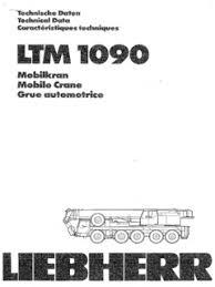 Liebherr Ltm 1090 Specifications Cranemarket