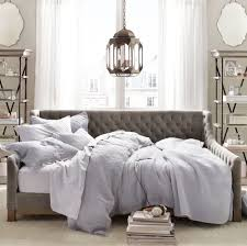 Daybeds can also provide a touch of luxurious laziness to a room. How  better to glory in the quietness of a Sunday afternoon than to lounge on a  daybed?