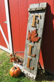 FALL Sign, Porch Decoration, Thanksgiving, Hand Made Letters and Maple  LEAF, Country Decor, Entryway Sign, Autumn Decor , Rustic Fall