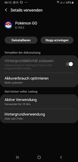 Pokemon Go unter Android Pie; One UI 1.0 - Samsung Community