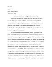 racial and ethnic discrimination christine zhang honors english  2 pages oedipus essay