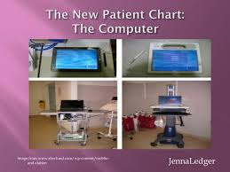 Ppt The New Patient Chart The Computer Powerpoint