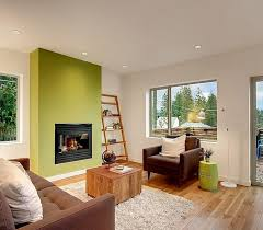 15 contemporary grey and green living room
