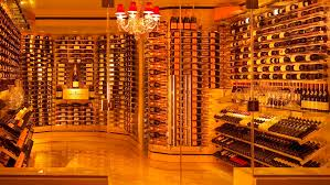 The RESERVE Wine Rack Systems from diamondLife lend a sleek elegance to  this Pittsburgh, ...
