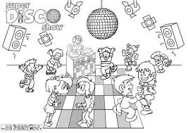 Afbeeldingsresultaat Voor Disco Kleurplaat Disco Home Decor