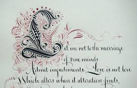zentangle sonnet  sonnet 116