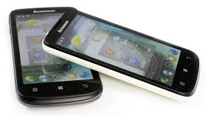 Mobilní telefon Lenovo A800 černý ...