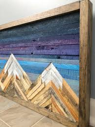 wood wall art decor pallet wall art