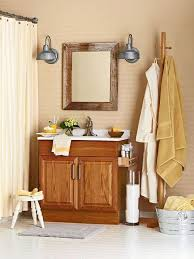update oak cabinets with neutral color for bathroom