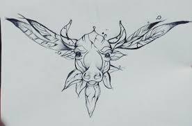 Tetování Býk Tetování Tattoo
