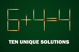 how to move one match to fix this 6 4 4 equation about 50 solutions found yet
