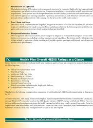 Nj Family Care Chart Hmo Performance Report Pdf