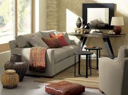 crate and barrel living room ideas. Farmhouse Living Room Decorating Ideas With Sofa Tables Crate And Barrel
