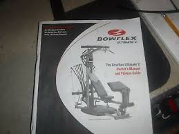 Bowflex Ultimate Exercise Wall Chart Home Gyms Bowflex Ultimate