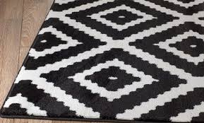 geometric area rug motivate summit 46 black white rite rugs with regard to 12