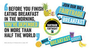 Image result for fairtrade breakfast 2017