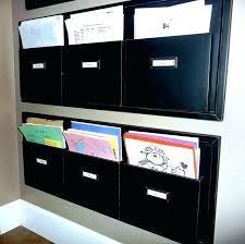 hanging wall folders mounted file folder holder rack alternative views organi