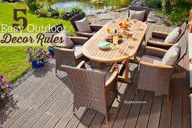 5 easy outdoor decor rules to try this season backyard patio designspatio decksdeckingcovered