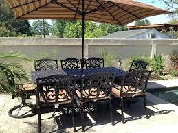 patio table cover with umbrella hole rectangle patio table rectangle patio table cover with umbrella hole