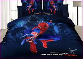 spiderman bed set queen